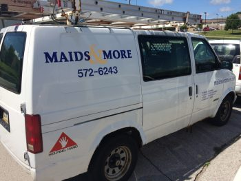 Maids and More Van